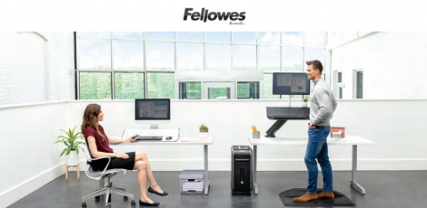 Great 10% cashback offer from Fellowes on Ergonomics, Storage, Binders & Shredders – Until July 2020!
