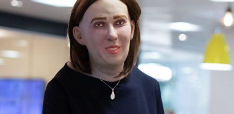 Meet Emma, a scary vision of the future without ergonomic office products!