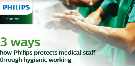 Philips protects medical staff through hygienic working