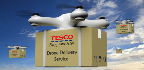 Tesco to trial home delivery service by drone (plus a COVID-19 update)
