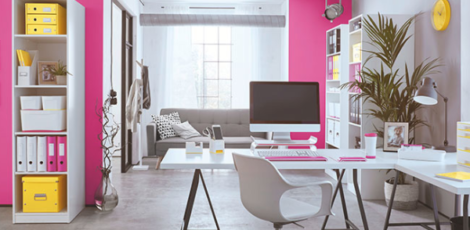 Home office colour schemes: how to use colour to lift and refresh your workspace
